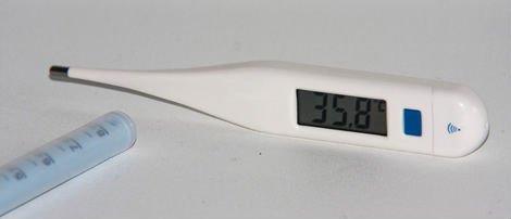 Termometro di temperatura basale