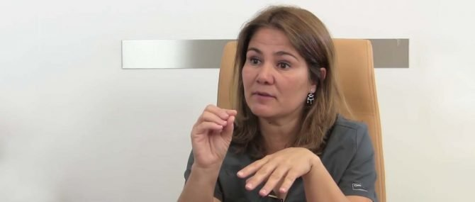 Imagen: Dr. Silvia Jimenez, embriologa.