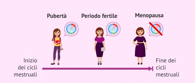 Imagen: Fasi della fertilità femminile