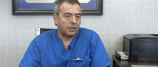 Imagen: Il Dr. Gorka Barrenetxea sui progressi del protocollo FIVET