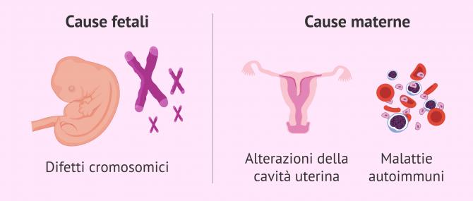 Imagen: Fattori di rischio della perdita di una gravidanza