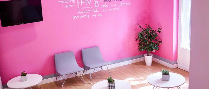 Imagen: Sala d'attesa di Love Fertility