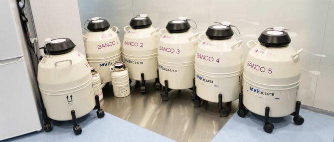 Imagen: Serbatoi di azoto liquido