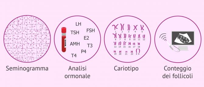 Imagen: Test eseguiti per lo studio della fertilità